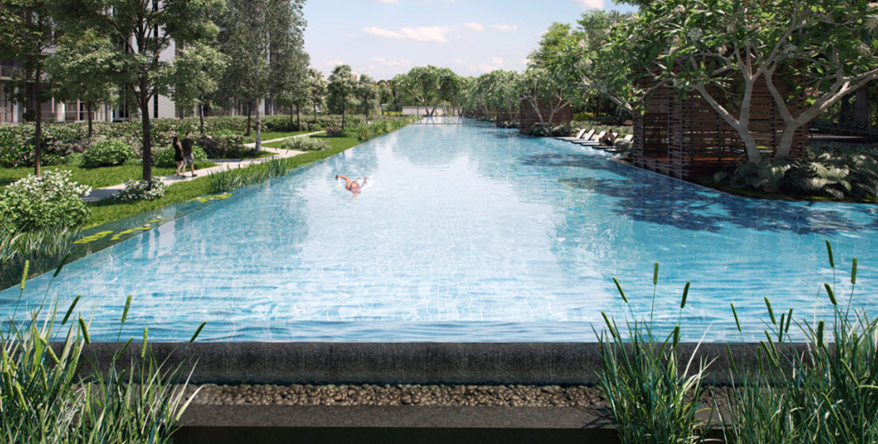 Parc Riviera facilities like swimming pool