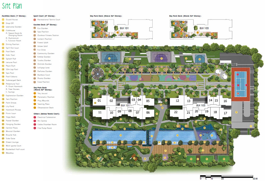 Parc riviera condo site plan for Website build project plan